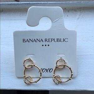 NWT gold earrings
